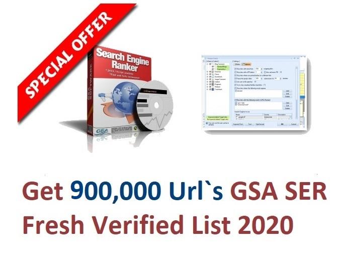 I will sell 900k Sept 2020 gsa ser verified urls list
