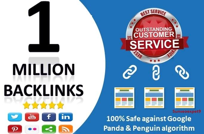 I will do 1 million gsa ser verified backlinks with high DR websites