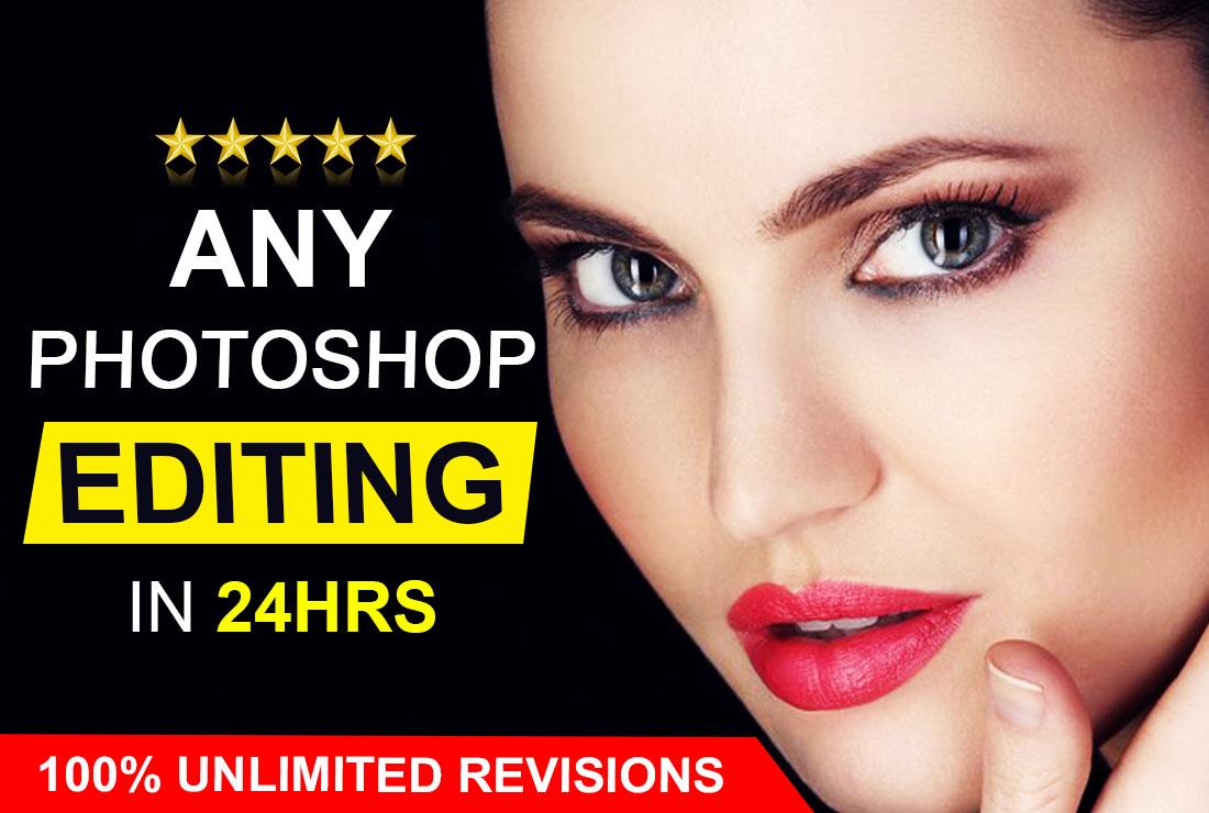 Photoshop editing and photo retouching