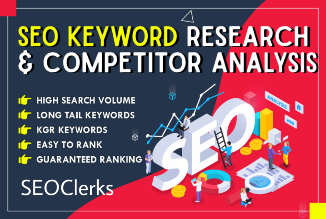 The best SEO keyword research and competitor analysis