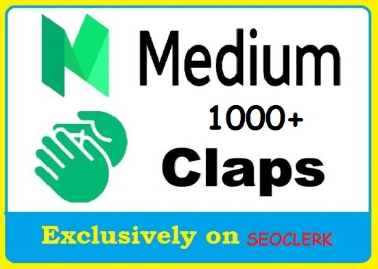 Get 1000+ Medium Claps to your post