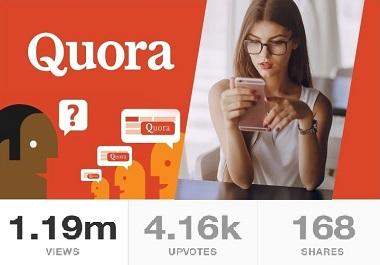 Get 100+ Quora Upvotes USA or Worldwide