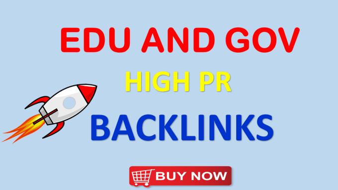 i will provide 40. edu. gov blog comment backlink with high da pa
