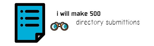 I will submit your website to 500 directories in no time