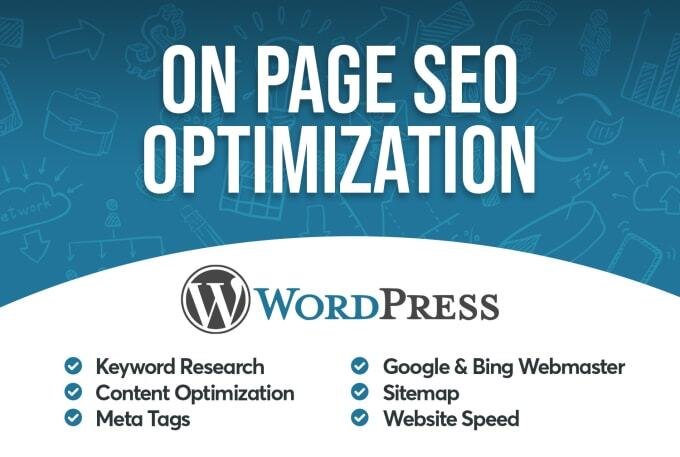I will do on page SEO and technical onpage optimization of wordpress site in 24 hour