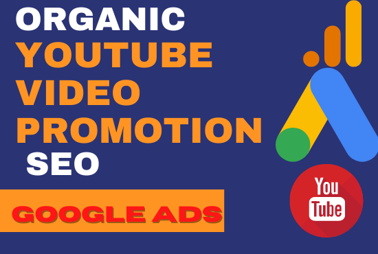 YouTube video promotion and SEO with google ads