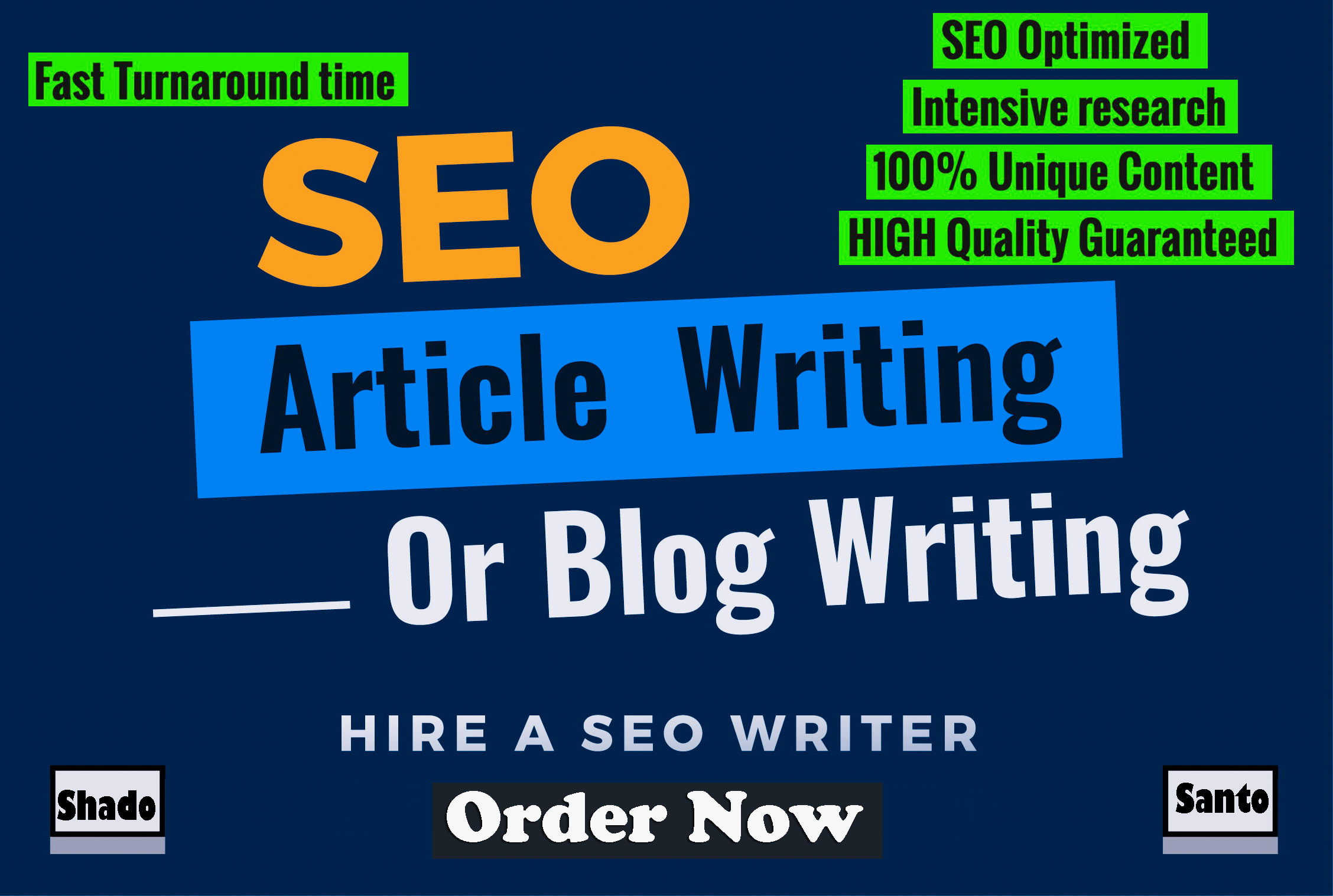 1000 words outstanding SEO articles writing a blog post within 24 hours