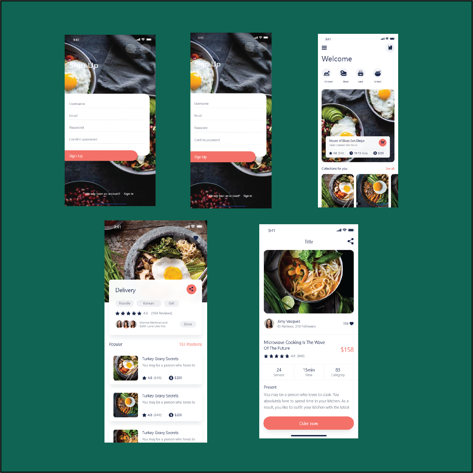 I will design website or mobile app ui mock up in adobe xd