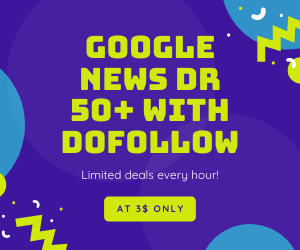 I will publish your article on DR 50 google news site with backlink