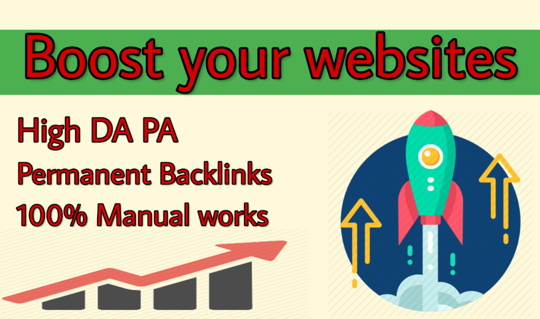 I will boost your google ranking with top quality 100 SEO backlinks