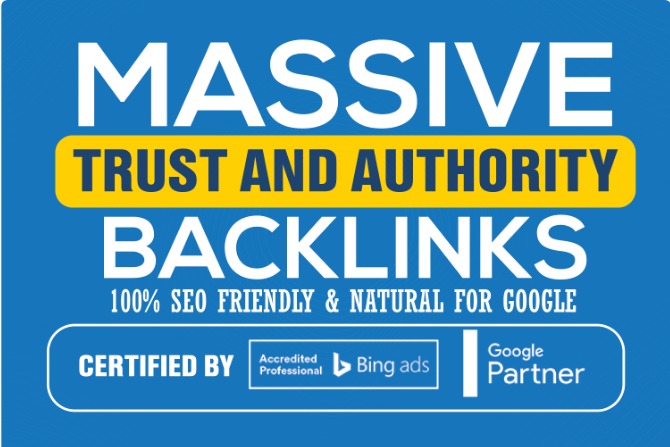 800 High Authority Backlinks to Catapult your Google SEO + Two Articles + Premium On-Site Analyzes f