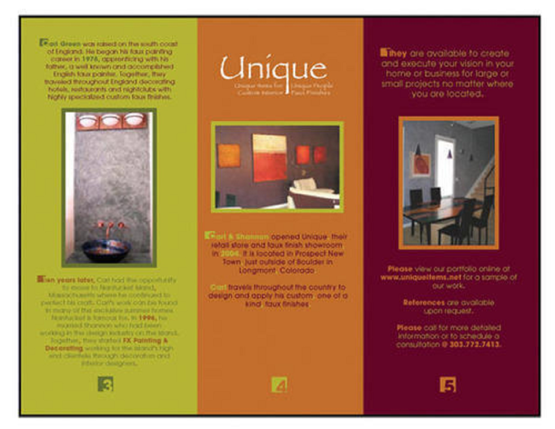 Can create great brochure/ catalogue design as per client requirements