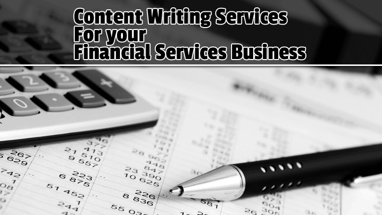 I do write financial, investing, and business content