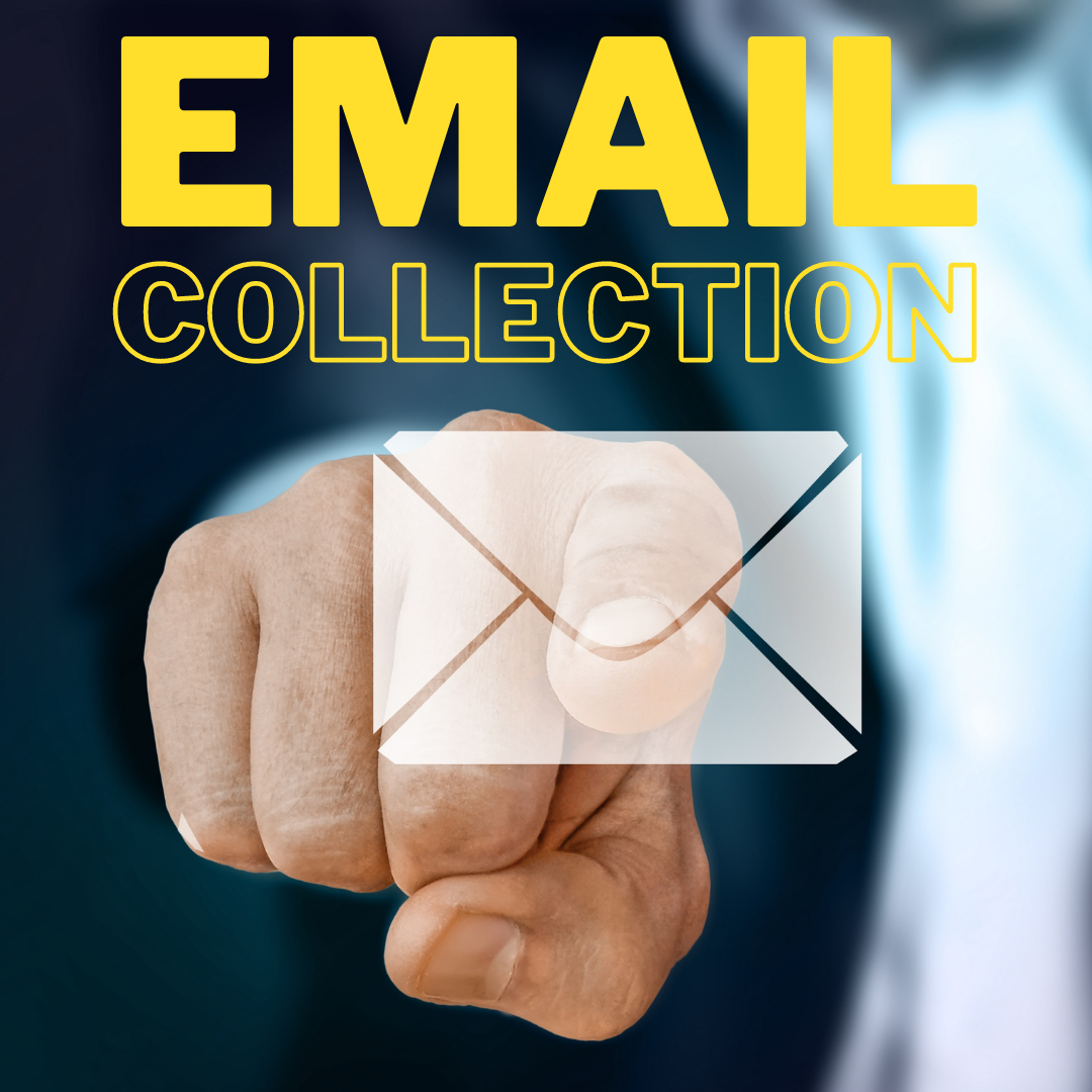 I Will Do Email Collection From Any Social Media,  At Very Low Cost