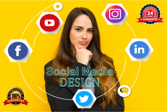 Design Professional social media cover / posts / Ads for Facebook,  Instagram,  Twitter,  Linkedin