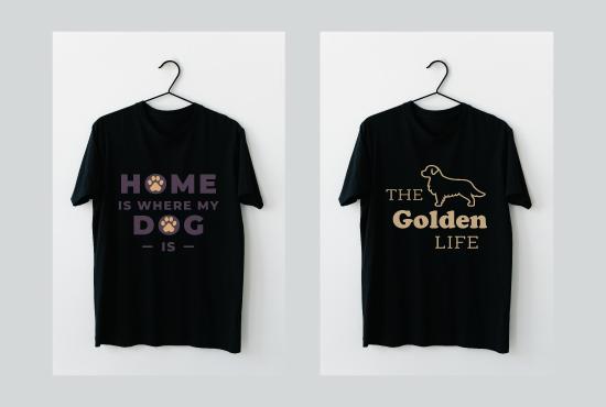 I'll design Professional & trendy t-shirt , custom t-shirt, typography & Christmas T shirt design