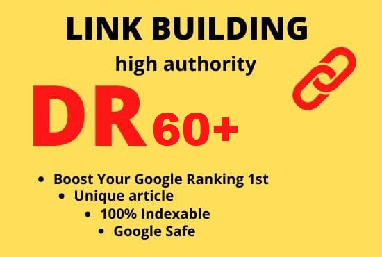 I will build 5 DR 60 permanent homepage pbn dofollow backlinks