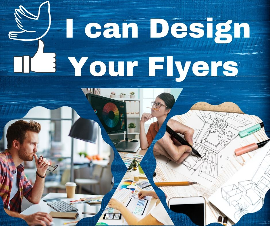I can design eye catchy professional flyers for your business