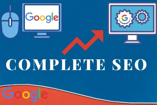 website seo for google first page ranking