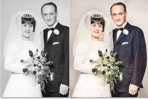 Colorize your old black and white photos