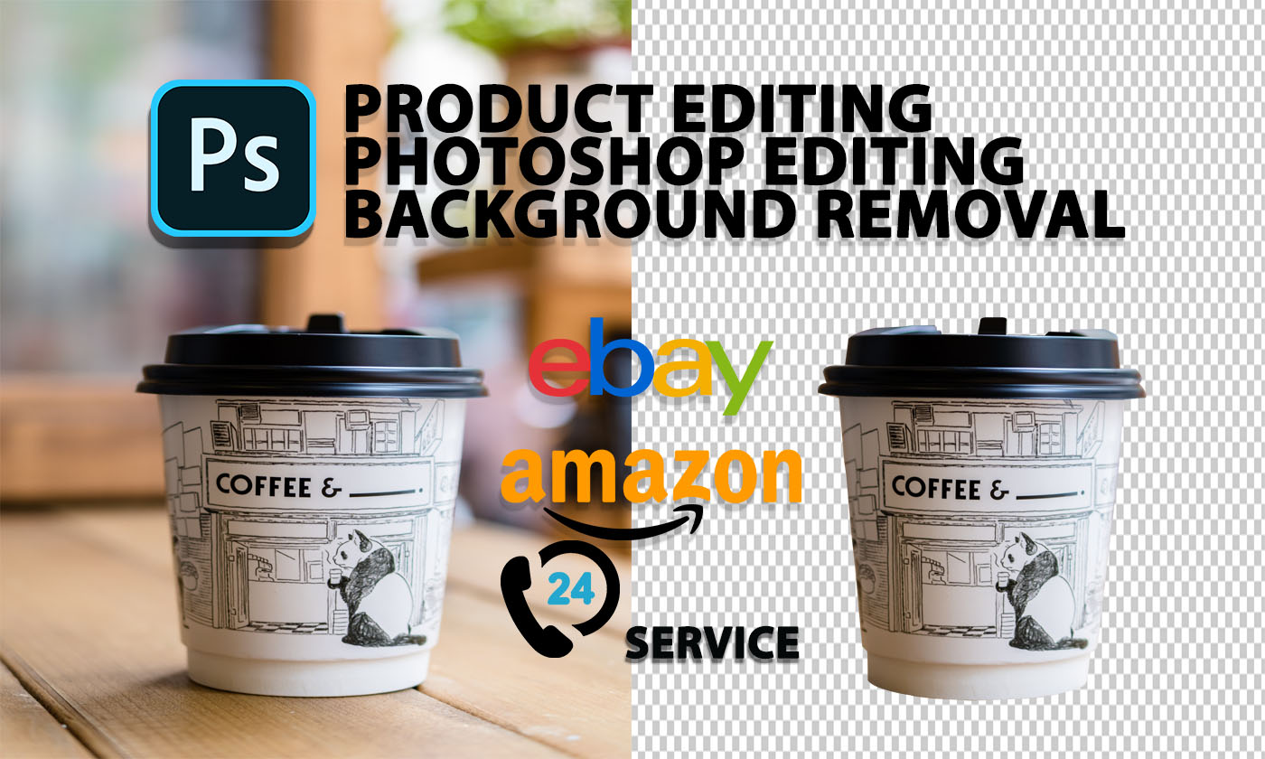 I will do background remove and Photo Retouching from any photos
