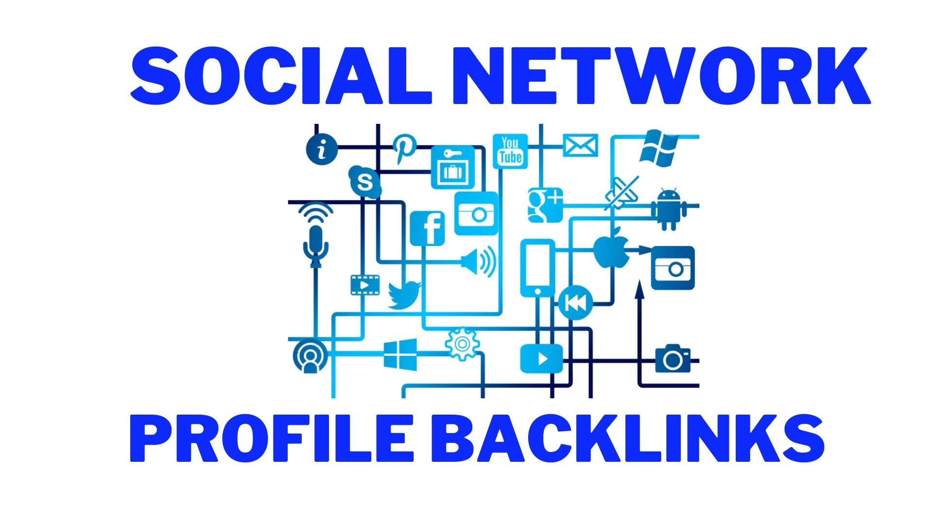 151+ Social networks profiles backlinks