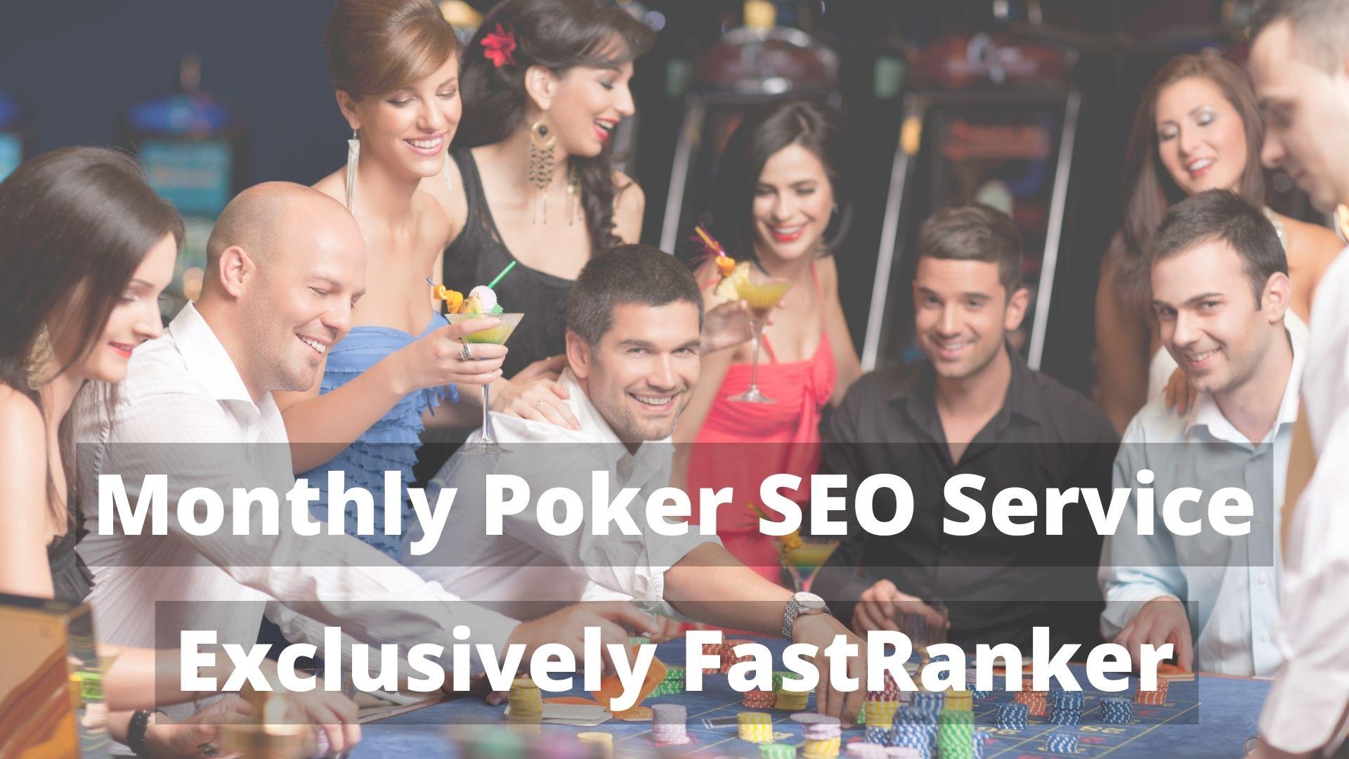 New Arrival Monthly Casino/poker/gambling Site SEO Ranking Backlinks