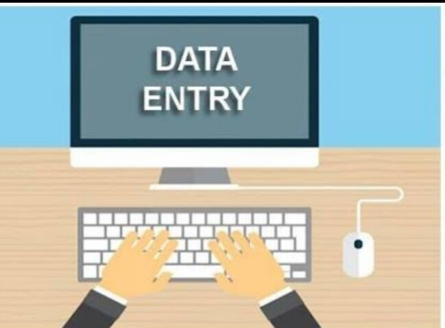 I will do data entry work on ms word , I Can type a paragraph.
