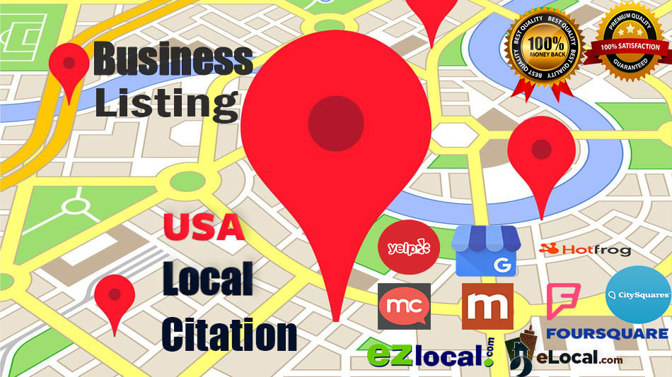 I will do top 100 USA local citations for local seo