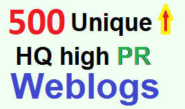 Increase Google Ranking with over 800 Unique High PR Web 2.0 Backlinks for Organic Traffic