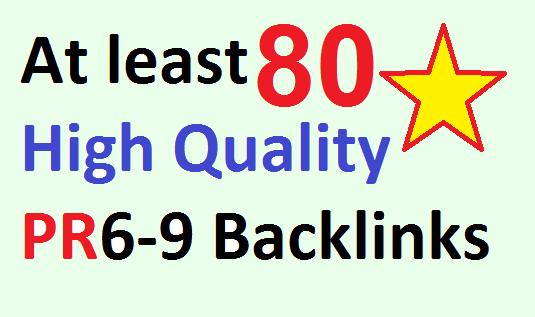 Over 80 High Quality High PR Web 2.0 Blog Backlinks for Organic traffic