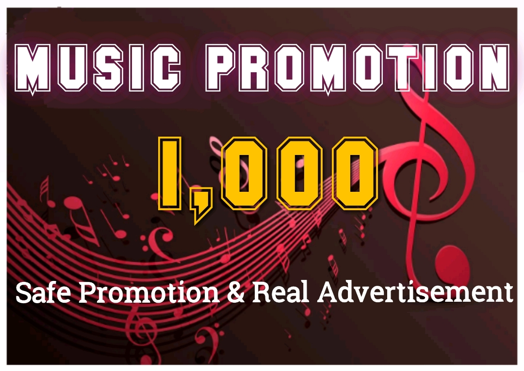 HQ Music safe Promotion professionally in your music track