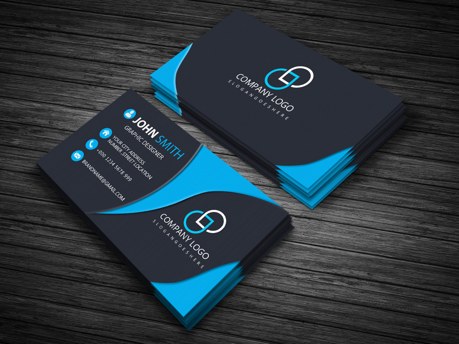 I will create your business card,  visiting card