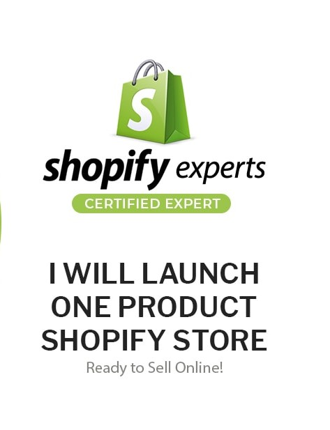I will launch one product shopify store ready to sell online