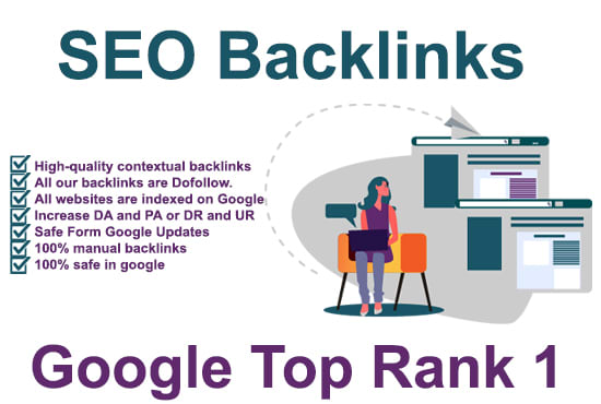 I will build profile high quality manual SEO backlinks in google top ranking