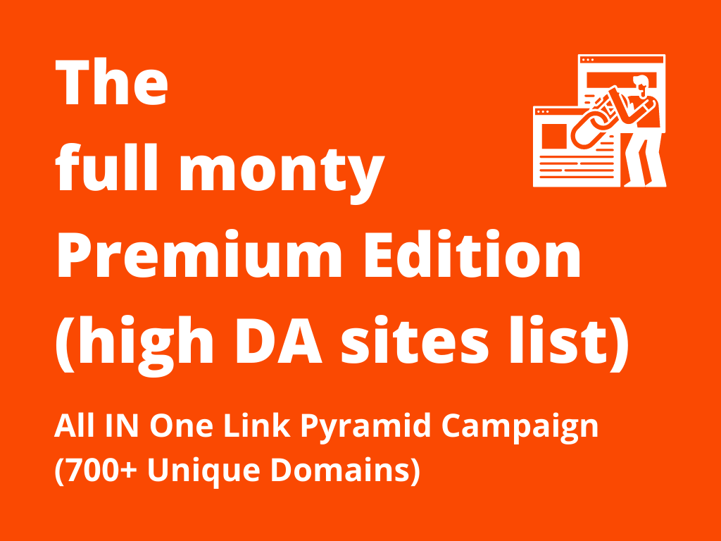 Increase Ranking with 700+ Unique Domain High Authority Do Follow Backlinks