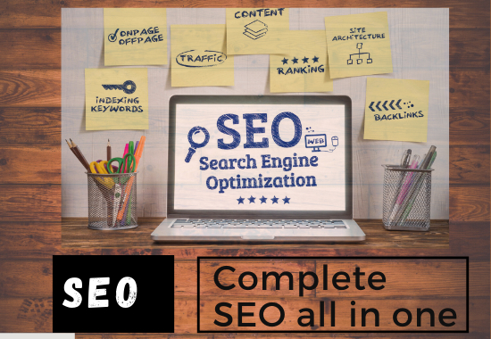 I will do complete SEO for your website.