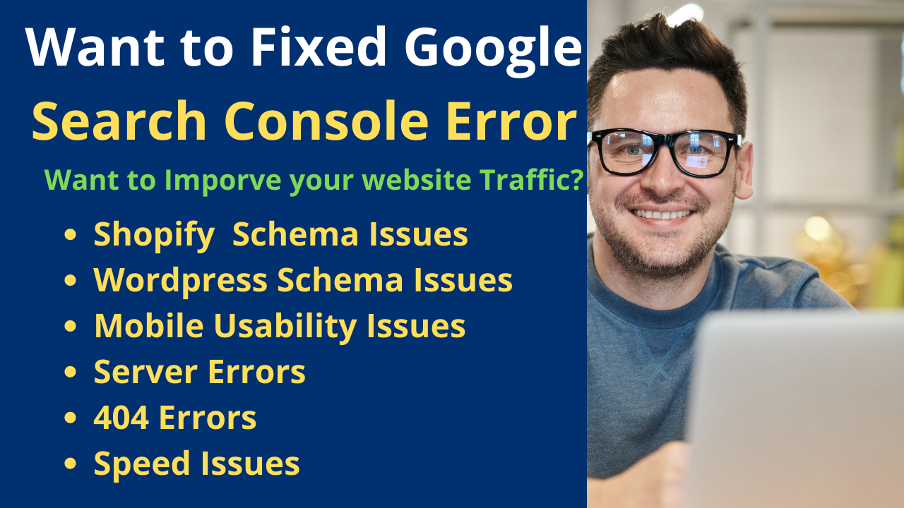 index your website in google and other search Engine and fix index coverage errors
