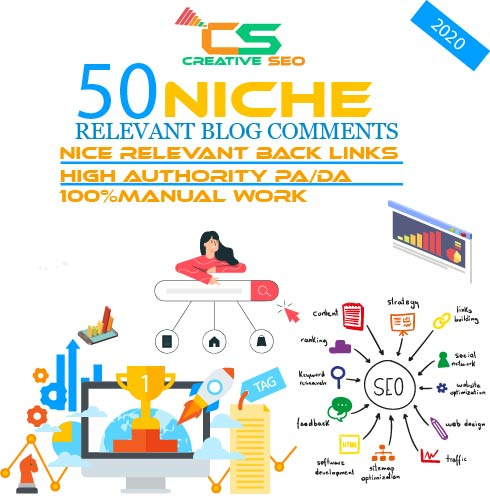 Seo Service Niche Revelant Backlink Blogcomments for website google top ranking