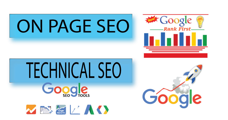 on page SEO and technical onpage optimization of wordpress site