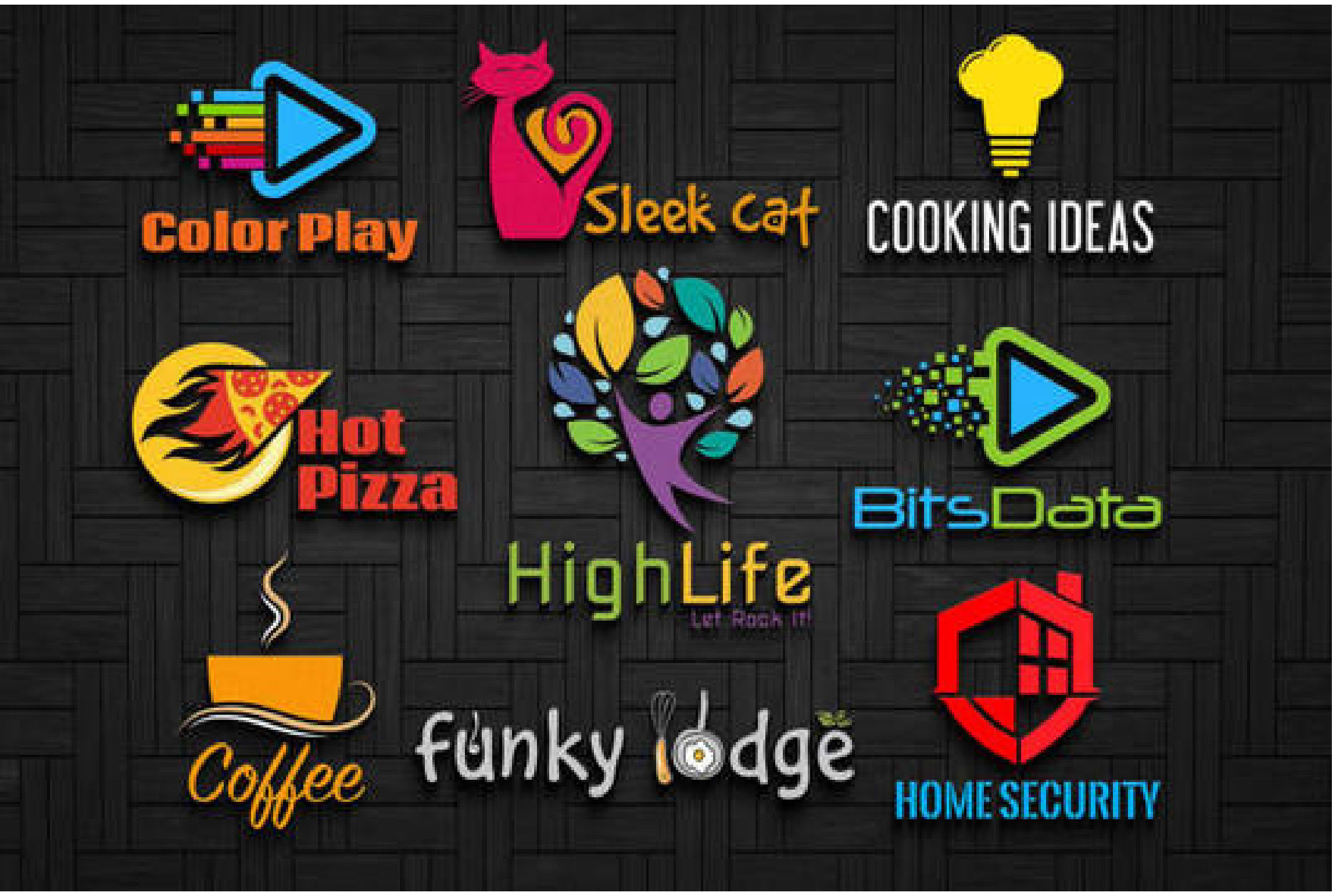 Hight quality and creative logo design for your business in 24h delivery