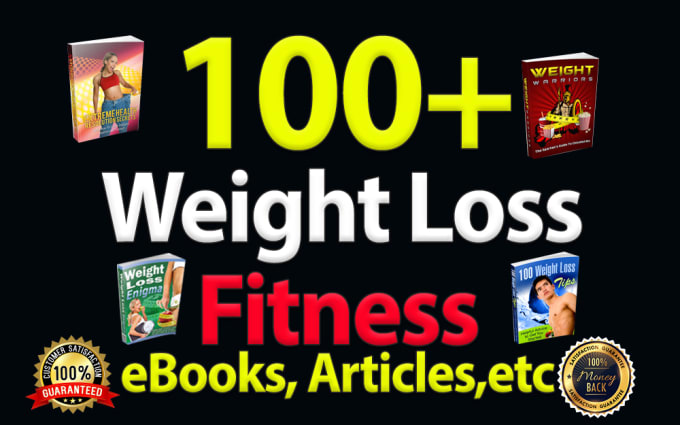 weight loss and fitness professional attractive eBooks with plr articles pack