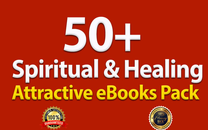 Spiritual & Healing professional eBooks for Improve your self