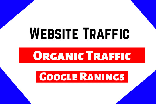 I will Drive Website Traffic for Google Rankings