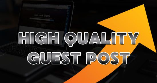 I will write 3 unique Article and do guest post on 80+ DA websites