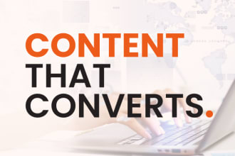 I write or rewrite SEO optimized blog articles,  website content in 24 hours