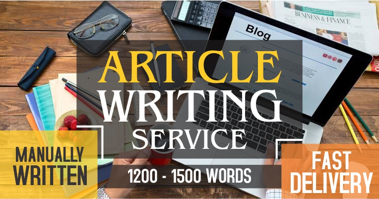 Manually written 1200-1500 words article to build up your WEB,  BLOG & personal use