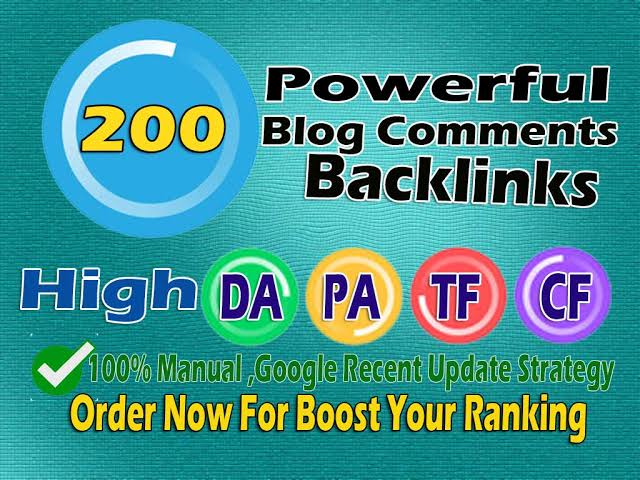 Get high quality blog comment backlinks for quick boosting