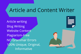 I will write 500 words HIGH QUALITY and WELL RESEARCHED Articles