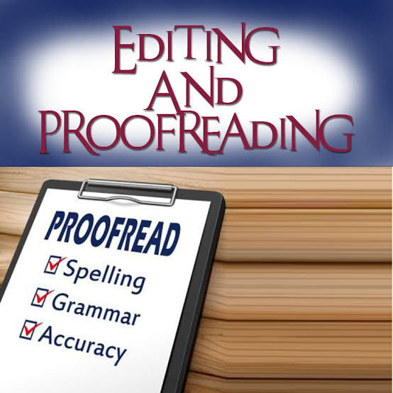 Proofread and edit 1000 words articles